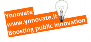 Logo Ynnovate - boosting public innovation